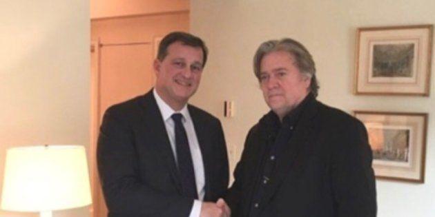 Steve Banon en Europe pour créer une internationale