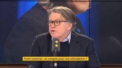 Collard dit avoir adhéré au FN