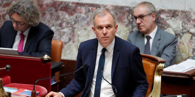 François de Rugy à l'Assemblée nationale au mois de juin