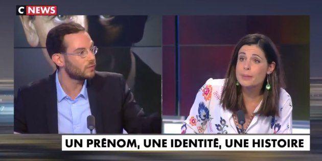 Clément Viktorovitch et Charlotte d'Ornellas ce jeudi soir en plein débat
