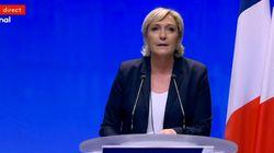 Dans son discours, Marine Le Pen n'a pas hésité à faire référence à l'héritage controversé de Johnny