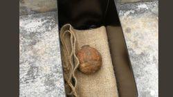 Une grenade de 14-18 dans des pommes de terre qui devaient finir en