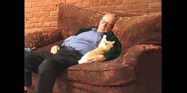 Pour Terry Lauerman, le meilleur ami de l'homme, c'est le chat.