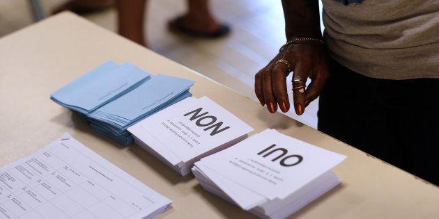 L'idée d'organiser un référendum le jour des européennes fait son chemin dans la majorité pour tirer...