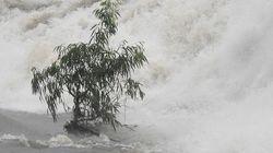 Les images des pluies torrentielles qui n'arrivent
