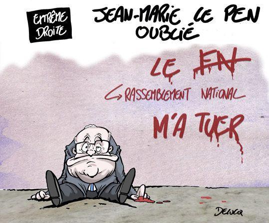 Comment Jean-Marie Le Pen prend son éviction du Rassemblement