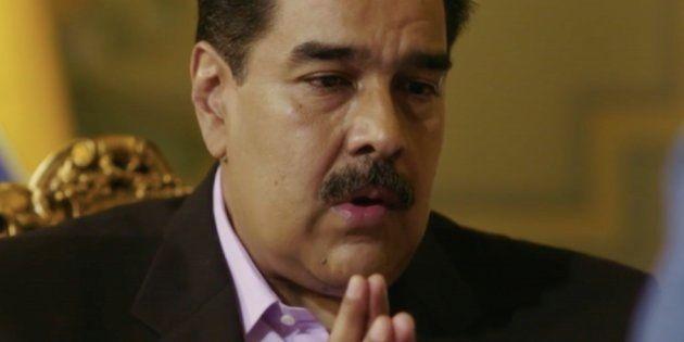 Nicolas Maduro interviewé par la chaîne La