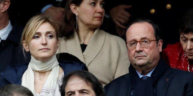 L'ancien président de la République François Hollande et sa compagne Julie