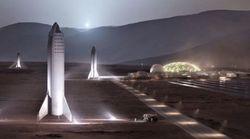 Elon Musk partage des photos de sa future base