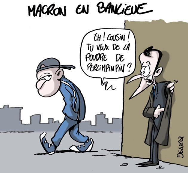 Emmanuel Macron en