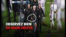 Une arme à la ceinture, ce président d'un club de foot grec menace l'arbitre... pour un but