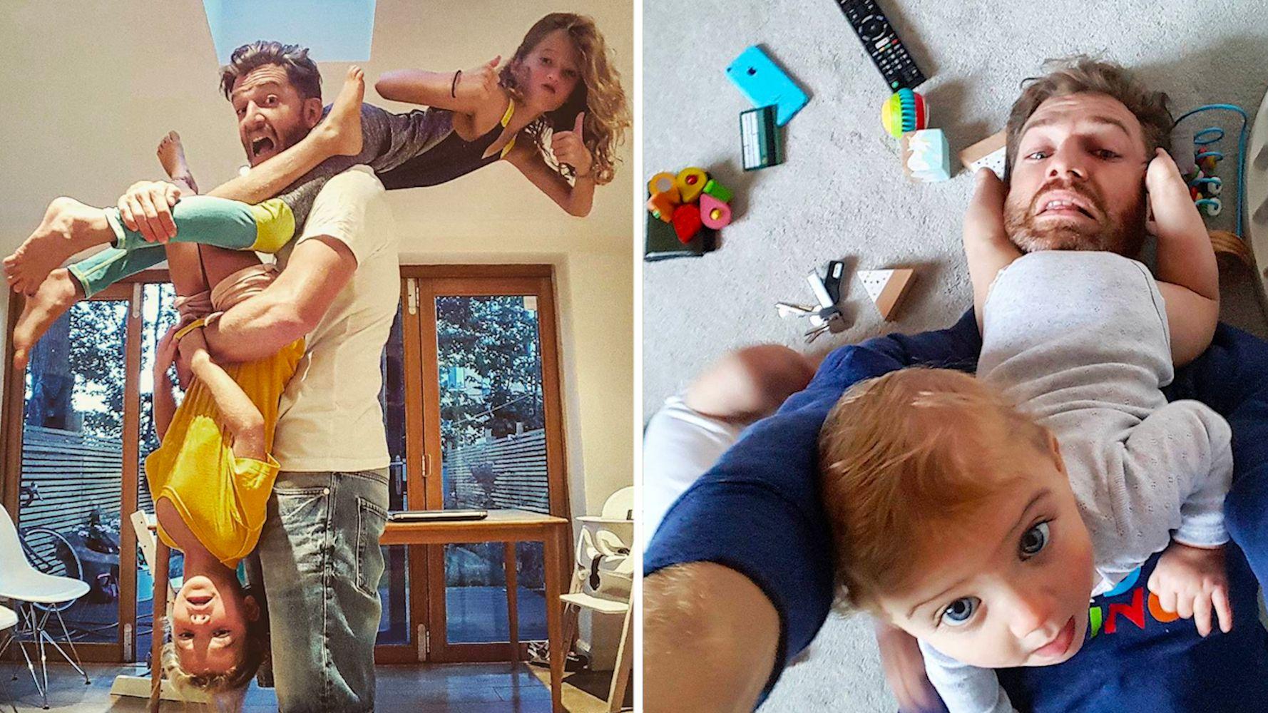 Ce papa partage sa vie de famille avec humour sur Instagram   Le Huffington Post