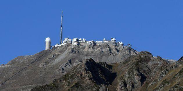 Une photo de l'observatoire du Pic du Midi en octobre
