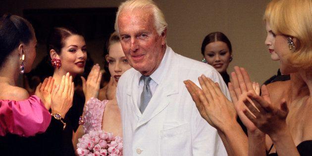 Hubert de Givenchy, fondateur de la marque, est