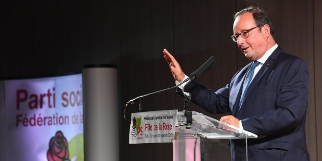 François Hollande à la Fête de la rose Tulle le 23 septembre