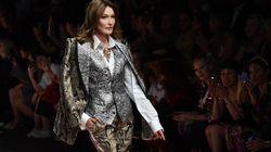 À la Fashion Week de Milan, Carla Bruni-Sarkozy a défilé pour Dolce &
