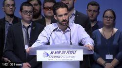 Une plainte déposée contre le proche de Marine Le Pen accusé d'insultes
