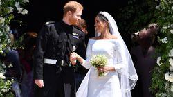 La robe de mariée de Meghan Markle avait un détail