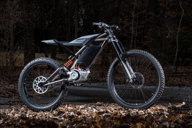 La moto électrique de montagne imaginée par Harley