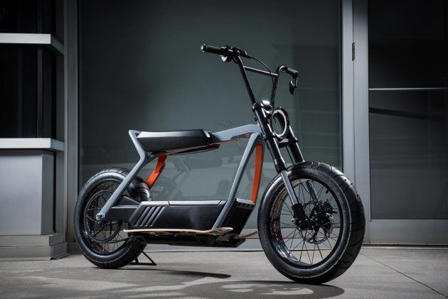 La moto électrique urbaine imaginée par Harley