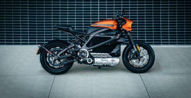 La moto électrique LiveWire de Harley