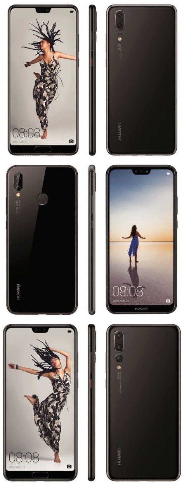Dégradé de couleurs, trois objectifs: toutes les rumeurs sur le Huawei