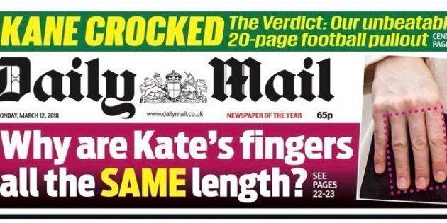 Kate Middleton: Oui, des Britanniques se sont penchés sur la longueur des doigts de la duchesse de