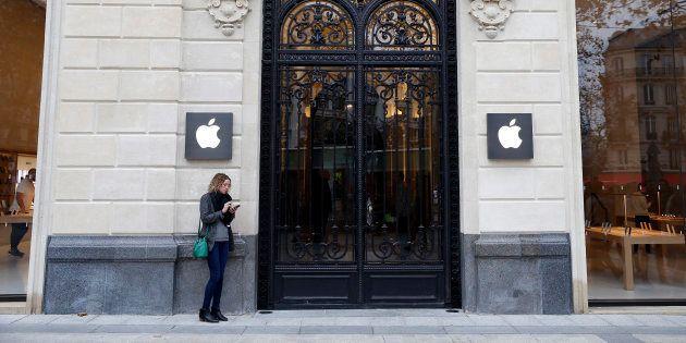 L'Apple Store des