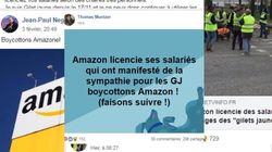 Ces gilets jaunes appellent au boycott d'Amazon après plusieurs