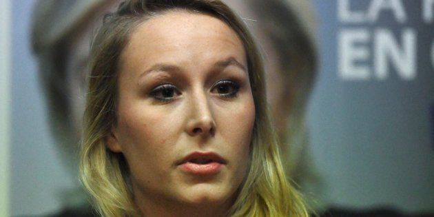 Marion Maréchal Le Pen en janvier