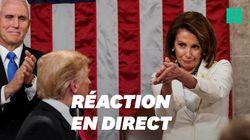 Face au discours sur l'état de l'Union de Donald Trump, les drôles d'applaudissements de