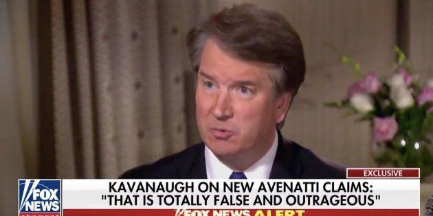 Brett Kavanaugh, candidat de Trump à la Cour suprême, se défend dans une interview à Fox