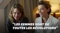 Adèle Haenel et Céline Sallette racontent le rôle des femmes dans la