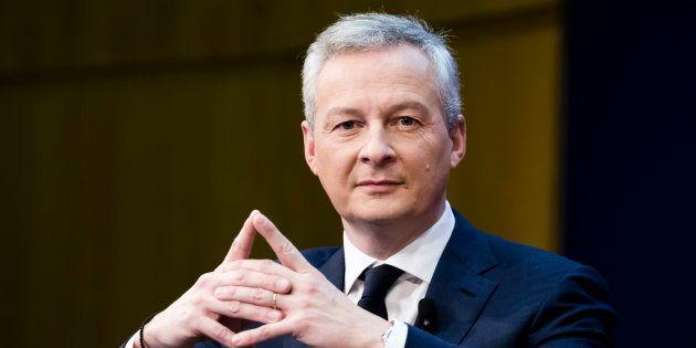 Le ministre de l'économie Bruno Le Maire, le 15 février 2018 à Paris pour la