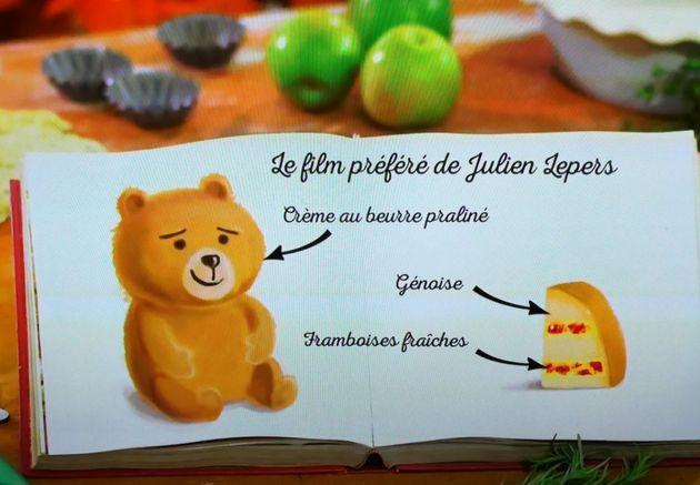 Le gâteau raté de Julien Lepers dans