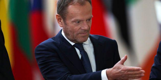 Donald Tusk est le président du Conseil européen, qui regroupe les chefs d'État et de gouvernement des...