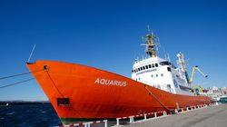 L'Élysée veut que l'Aquarius débarque à Malte et pas à