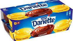 Danone rappelle des lots de Danette, redoutant un risque pour la