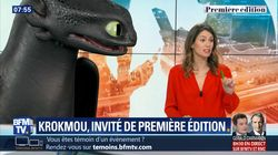 Comment BFMTV a invité le dragon Krokmou en