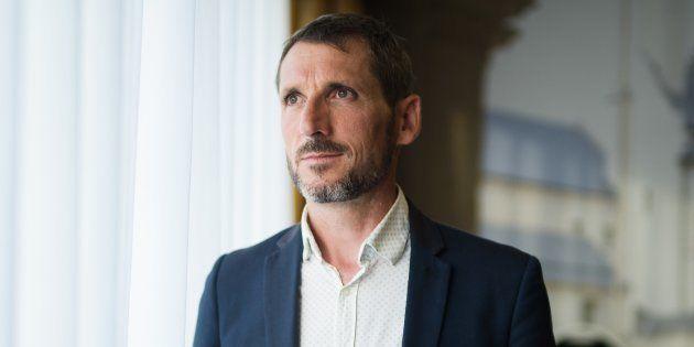 Le député Matthieu Orphelin, ici après son élection en 2017, quitte le groupe