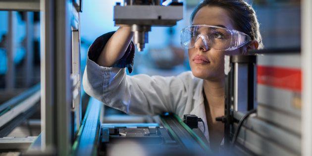 Encore quelques efforts et plus de femmes feront carrière dans les filières technologiques ou