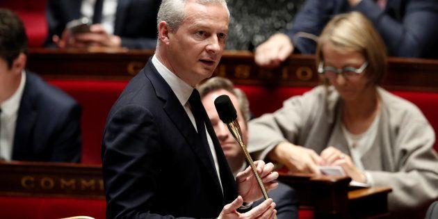 Bruno Le Maire défend la Loi