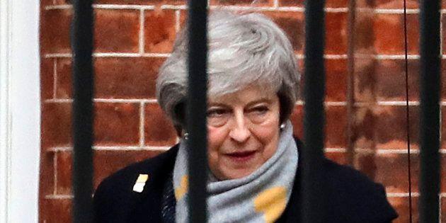 Theresa May doit rencontrer les principaux dirigeants de l'UE pour tenter d'infléchir leur position sur...