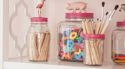 8 astuces pour faire de vos vieux bocaux de vrais accessoires