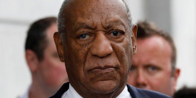 Bill Cosby, ici le 24 septembre en Pennsylvanie, a été condamné à une peine de 3 à 10 ans de prison pour...
