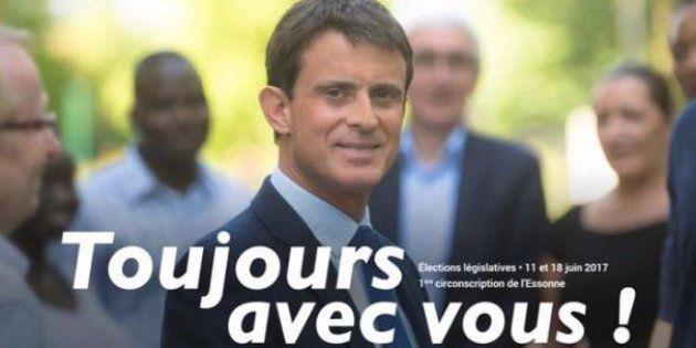 Valls candidat à Barcelone: cet ancien tract qui se partage pour railler sa candidature en