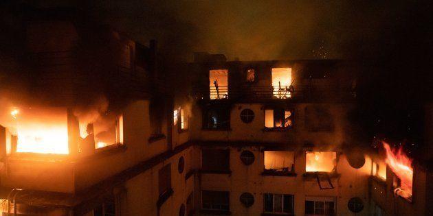 Incendie à Paris: la suspecte de nouveau en garde à vue (Photo prise le 5 février