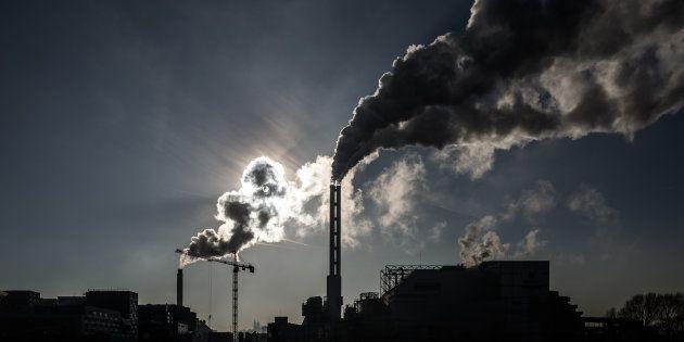 La France renonce à ses objectifs sur les émissions de gaz à effet de serre (Photo d'illustration prise...