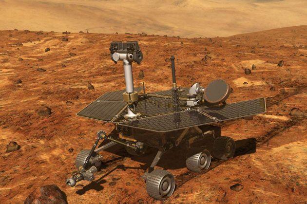 La Nasa entraperçoit Opportunity, son robot martien, après une
