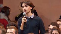 Un jeune victime de harcèlement scolaire interpelle Emmanuel